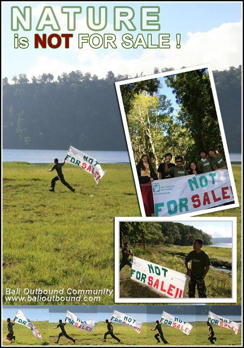 Nature is not for sale