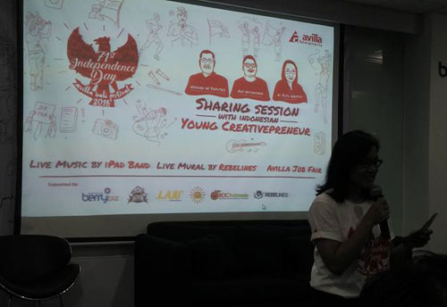Sharing session Avilla Hostpitality