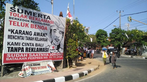Jokowi Tolak Reklamasi
