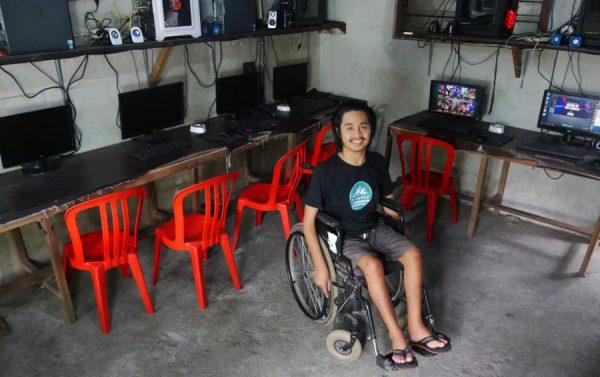 Wahyu Diatmika Difable Disabilitas Entrepreneur