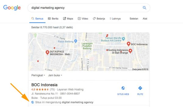 Google Bisnisku BOC Indonesia