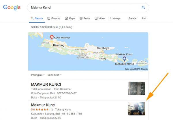 Google Bisnisku Makmur Kunci