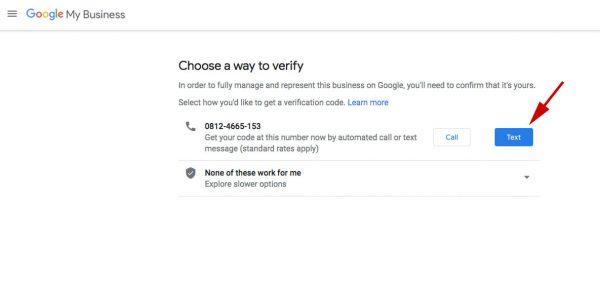 Klaim Google Bisnisku