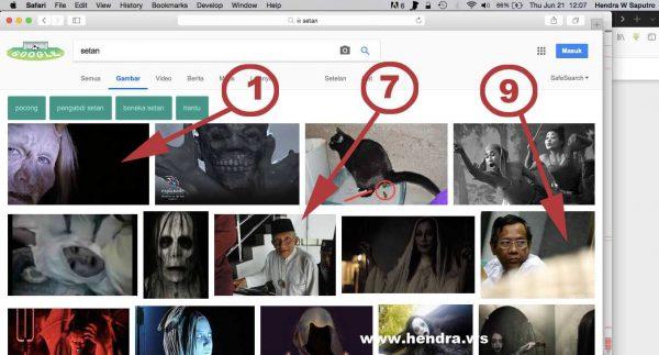 Rangking di Google Images