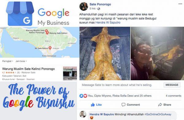 Kekuatan Google Bisnisku (Google My Business)