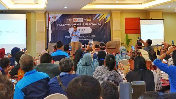Sandiaga Uno di Mukernas TDA 6.0 Mataram Lombok