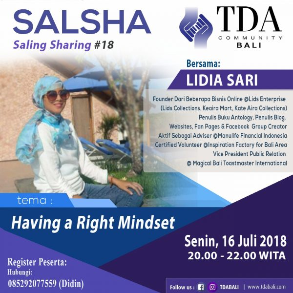 SALSHA TDA Bali