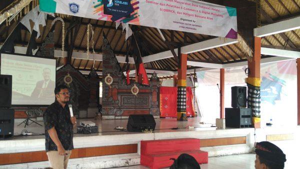 Internet marketing bagi UKM Desa Sukawati - Bali