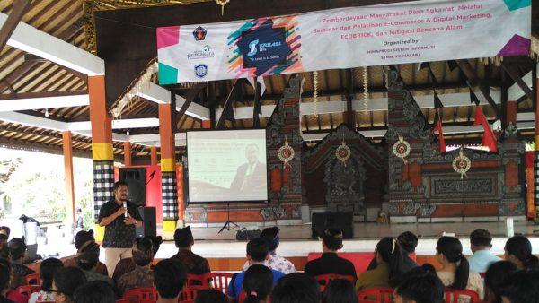 Seminar Internet marketing di Desa Sukawati - Bali