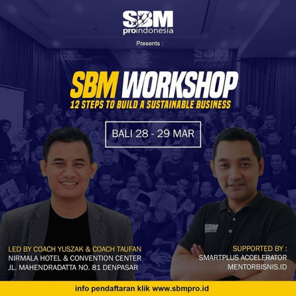 SBM Workshop Denpasar 2020